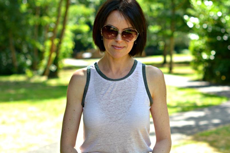 marc jacobs sunglasses maje vest top