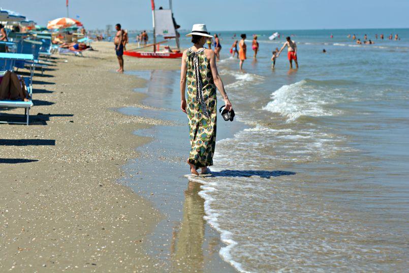 zadina beach   adriatic coast   italy