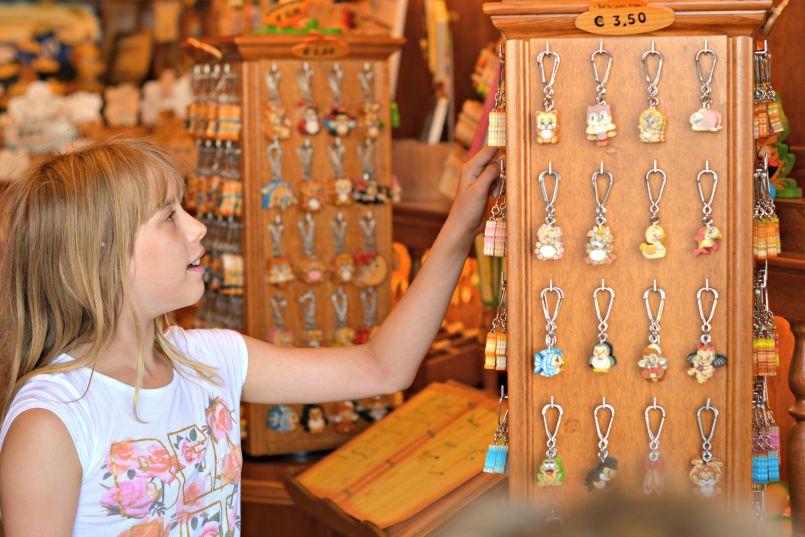 souvenir shopping in cesenatico italy