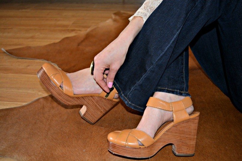 Marc Jacobs retro shoes   Isabel Marant cocktail ring