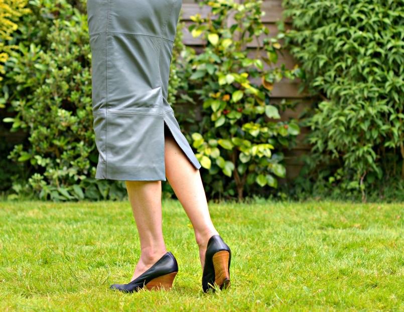 Lanvin wedge heel ballet shoes