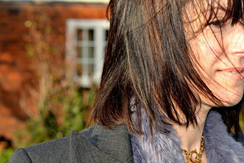 Brunette tonal hair colour