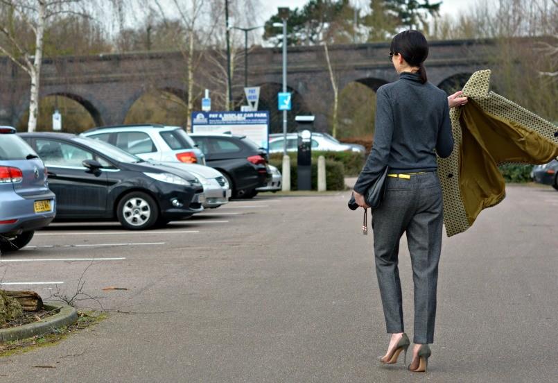 Boden jumper | Boden belt |Raoul clutch | Salt coat Jack Wills trousers | Gianvito Rossi shoes