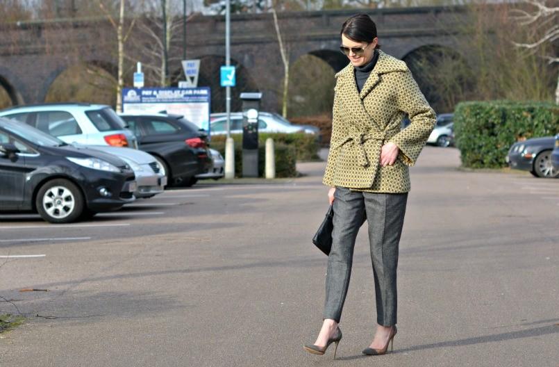 Boden jumper | Boden belt |Raoul clutch | Salt coat | Jack Wills trousers