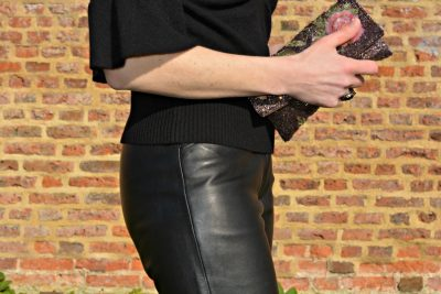 what to wear with leather trousers over 40