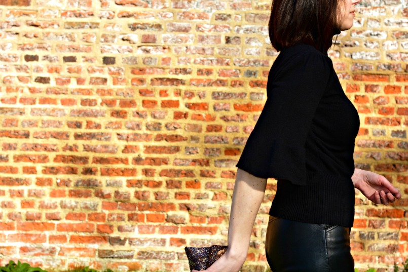 what to wear with leather trousers