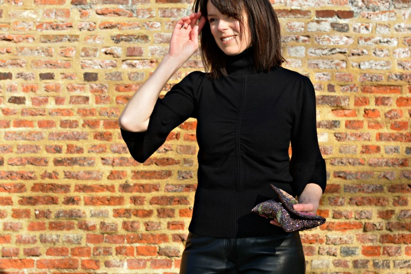 how to style leather trousers over 40|Jigsaw leather trousers