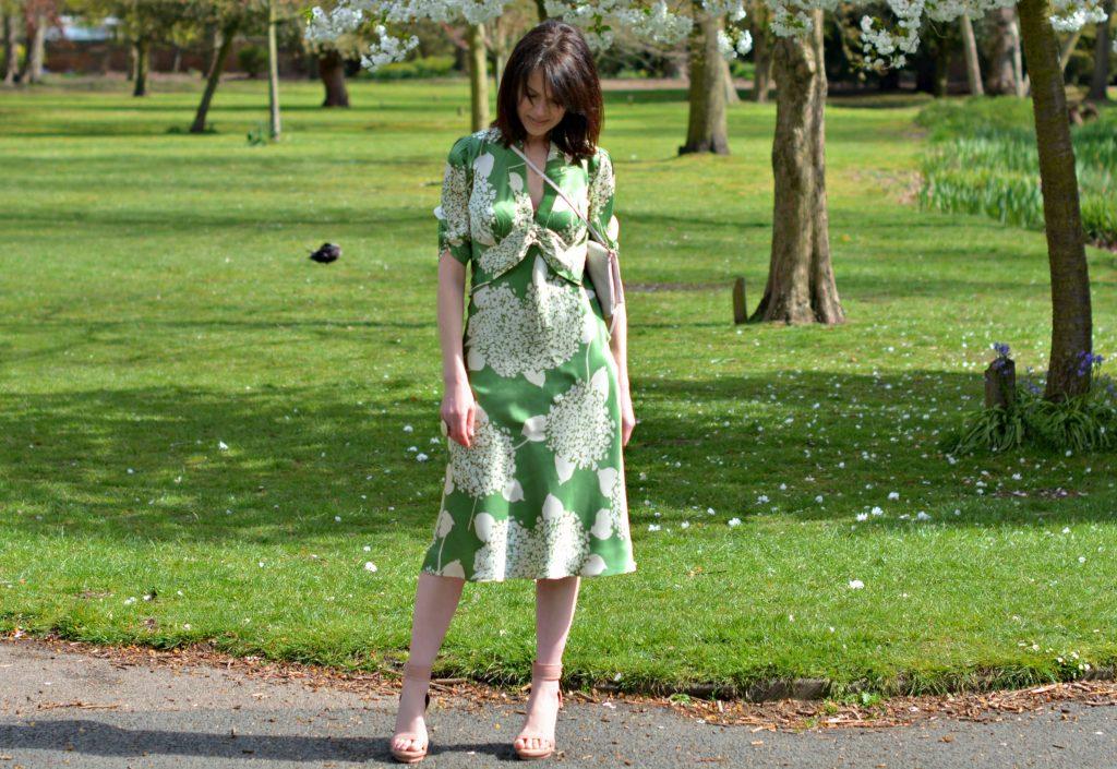 lux fix nancy mac dress wedding outfit