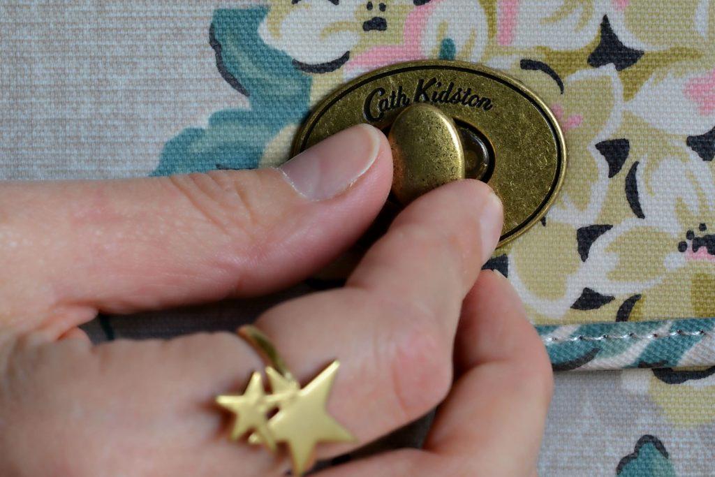 Cath Kidston Hydrangea bag Lizzy O star ring