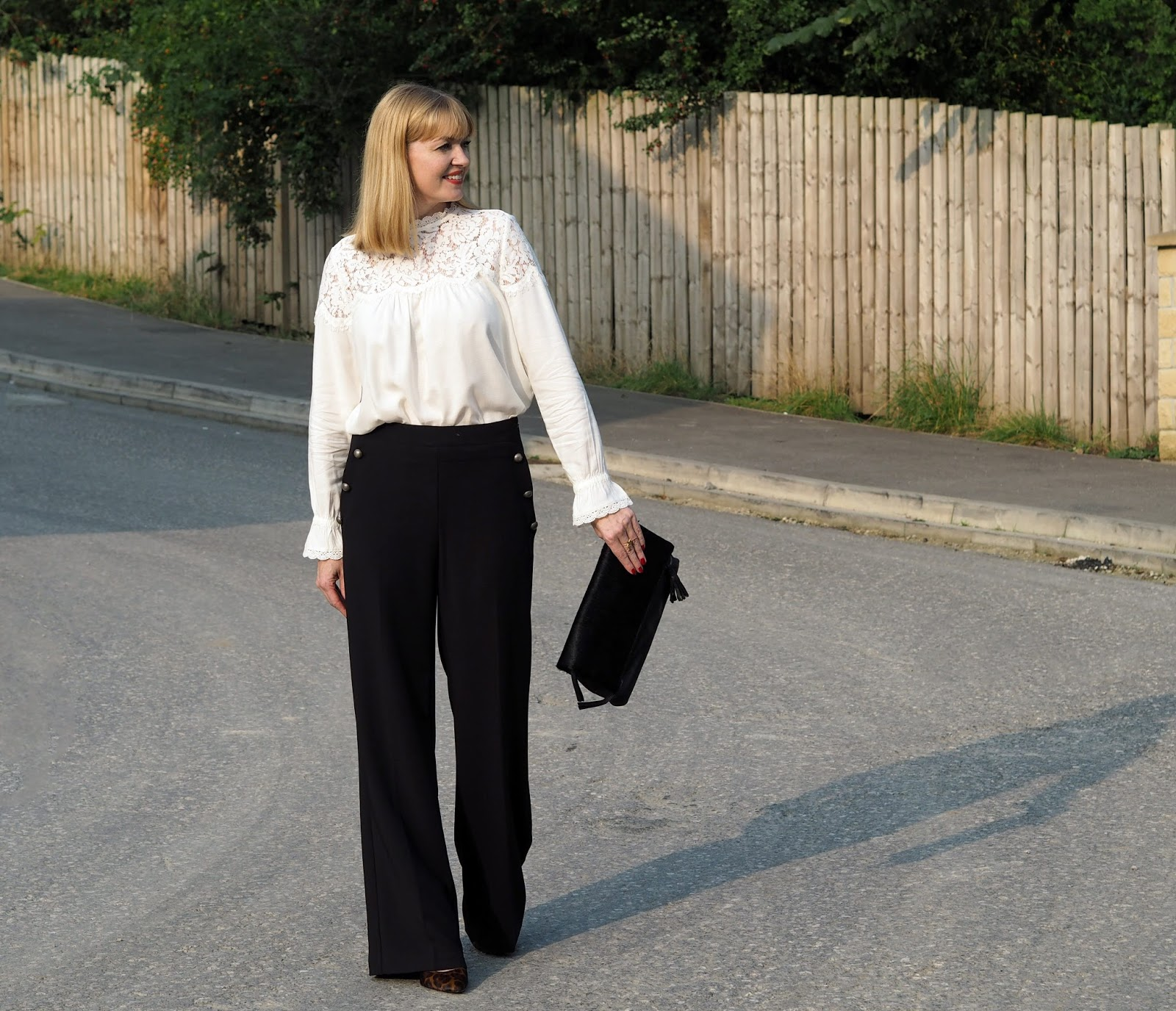 What Lizzy Loves M&S A/W outfit