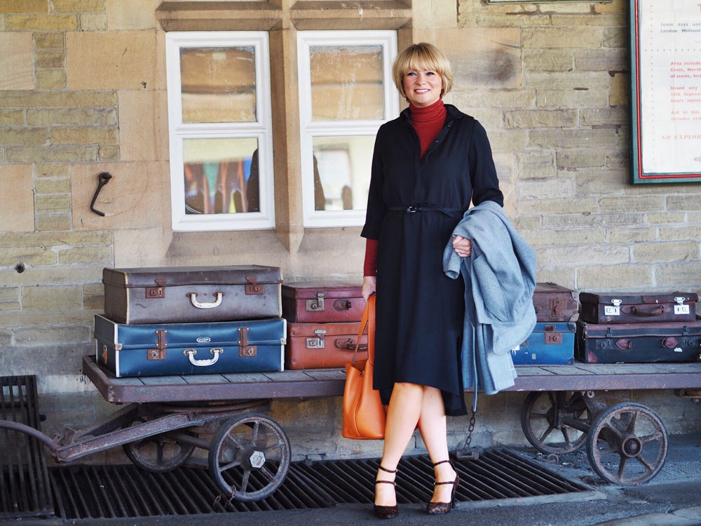 Midlife Chic M&S A/W outfit