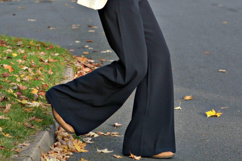Winser London wide leg trousers