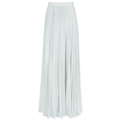 Reiss light blue maxi skirt