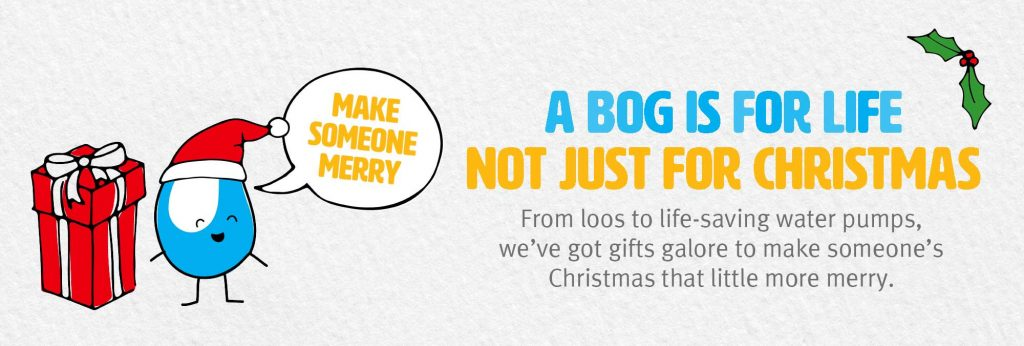 donate to wateraid as a christmas gift
