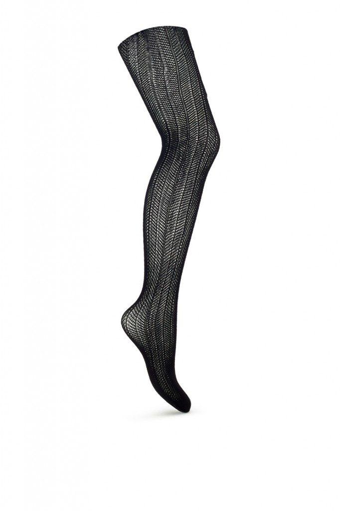 Swedish Stockings Astrid Stockings in Fishnet