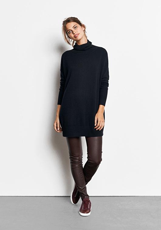 hush burgundy leather leggings