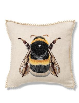 marks and spencer bumblebee cushion