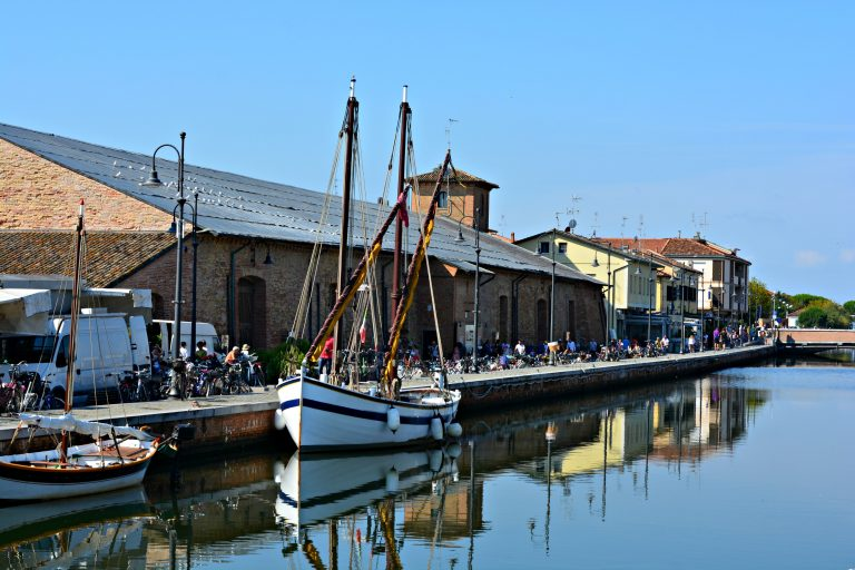 Cervia boats & bikes on the Adriatic