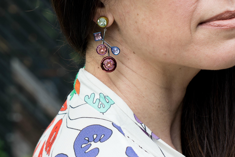 swarovski x peter pilotto earrings
