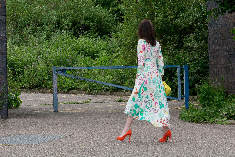 Vintage Retro Boho dress by Rixo London