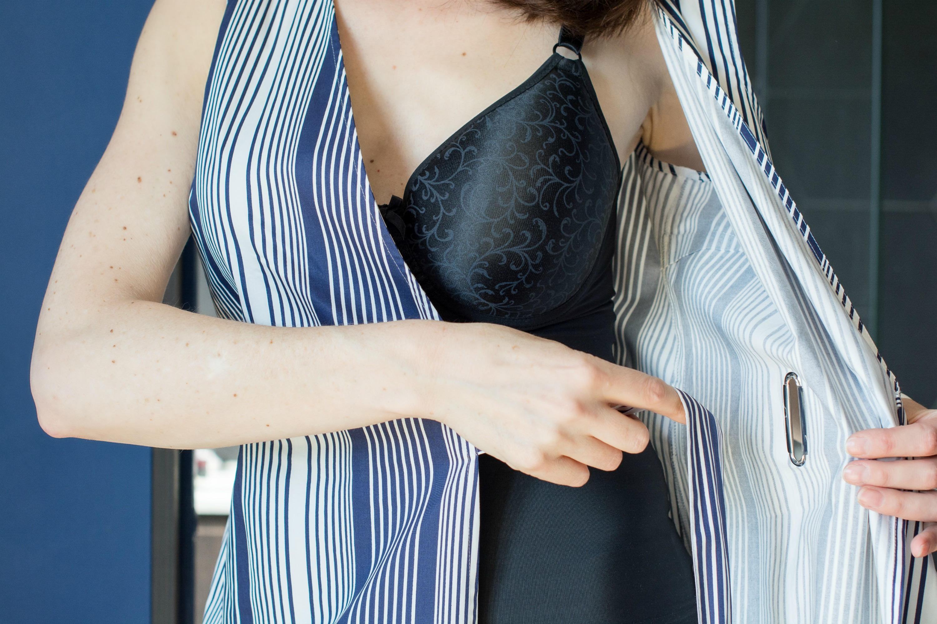 Shapeez Tankee bra for a smooth line under a wrap dress