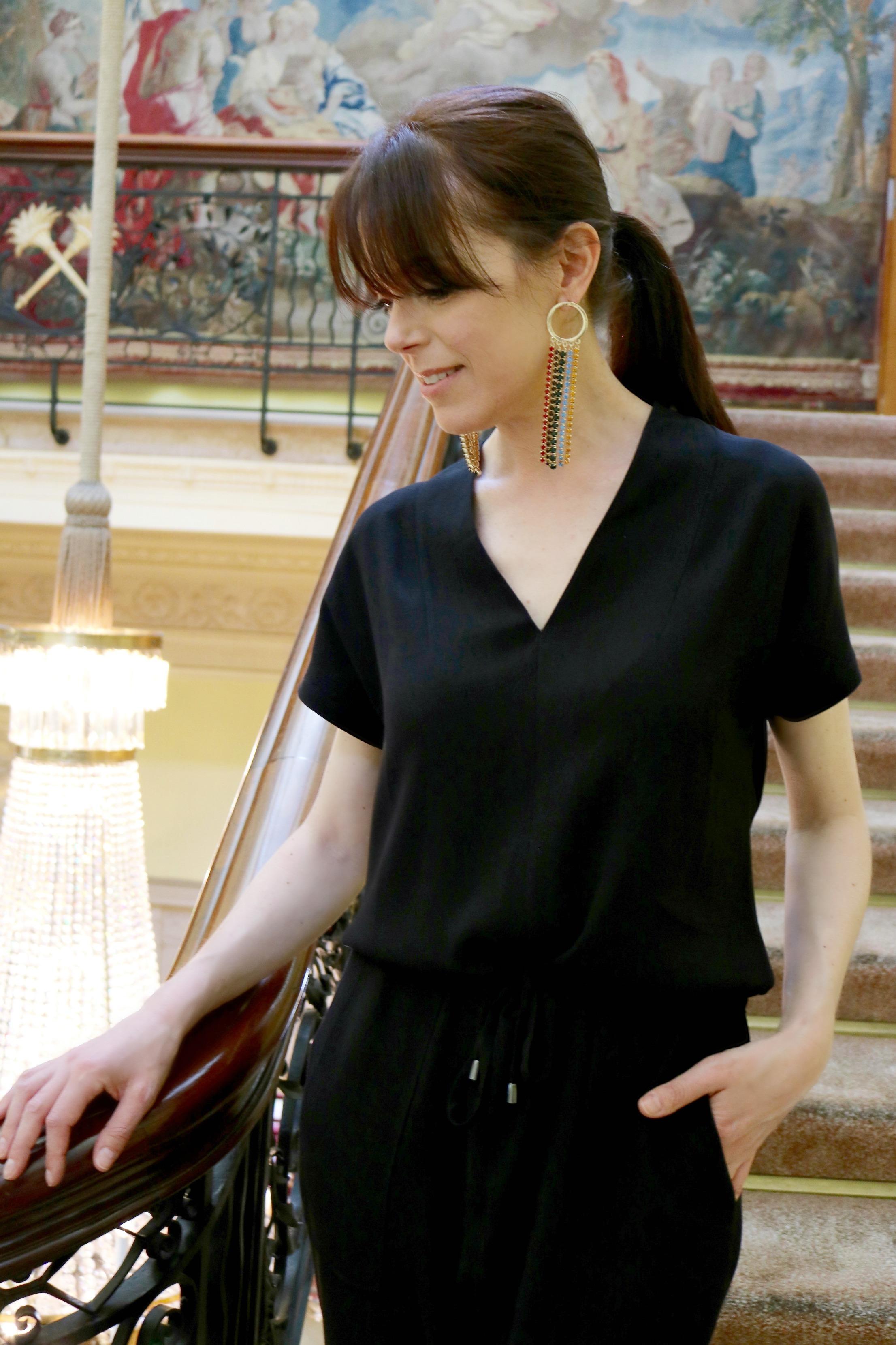 Winser London black jumpsuit