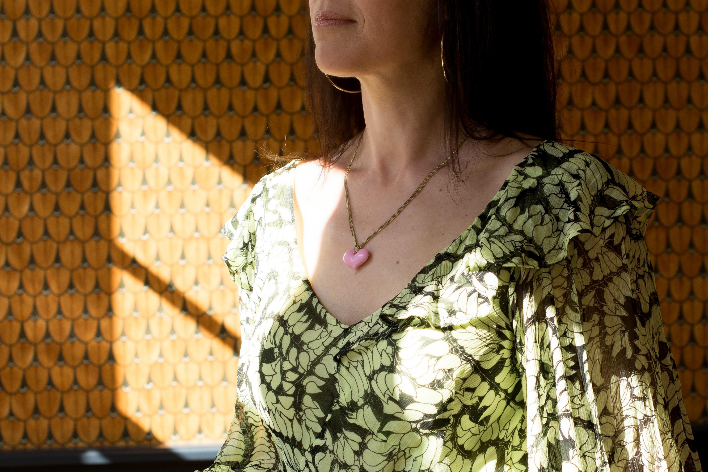 long sleeved maxi dress-heart