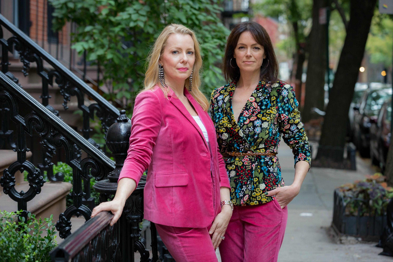 velvet suit trend in floral & pink